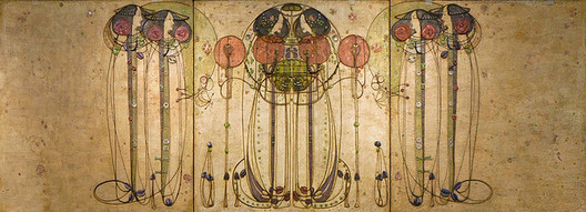 """The Wassail"" by Charles Rennie Mackintosh. Image © <a href='https://www.flickr.com/photos/dalbera/3802874247/'>Flickr user dalbera</a> licensed under <a href='https://creativecommons.org/licenses/by/2.0/'>CC BY 2.0</a>"