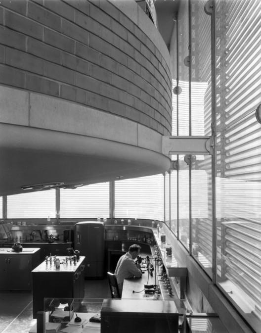 SC Johnson Wax Research Tower. Image © SC Johnson