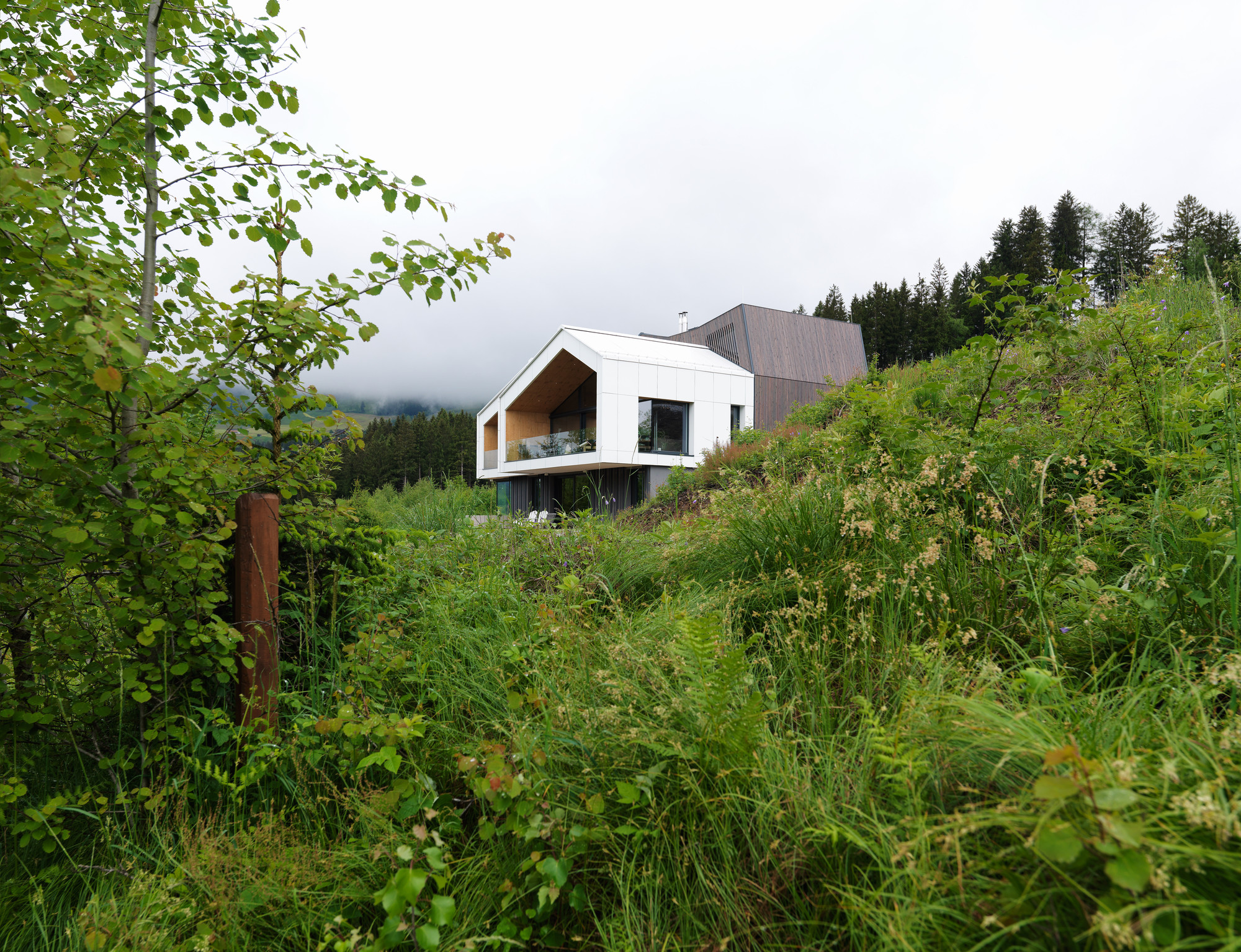 Mountain-view House Sono Arhitekti Archdaily