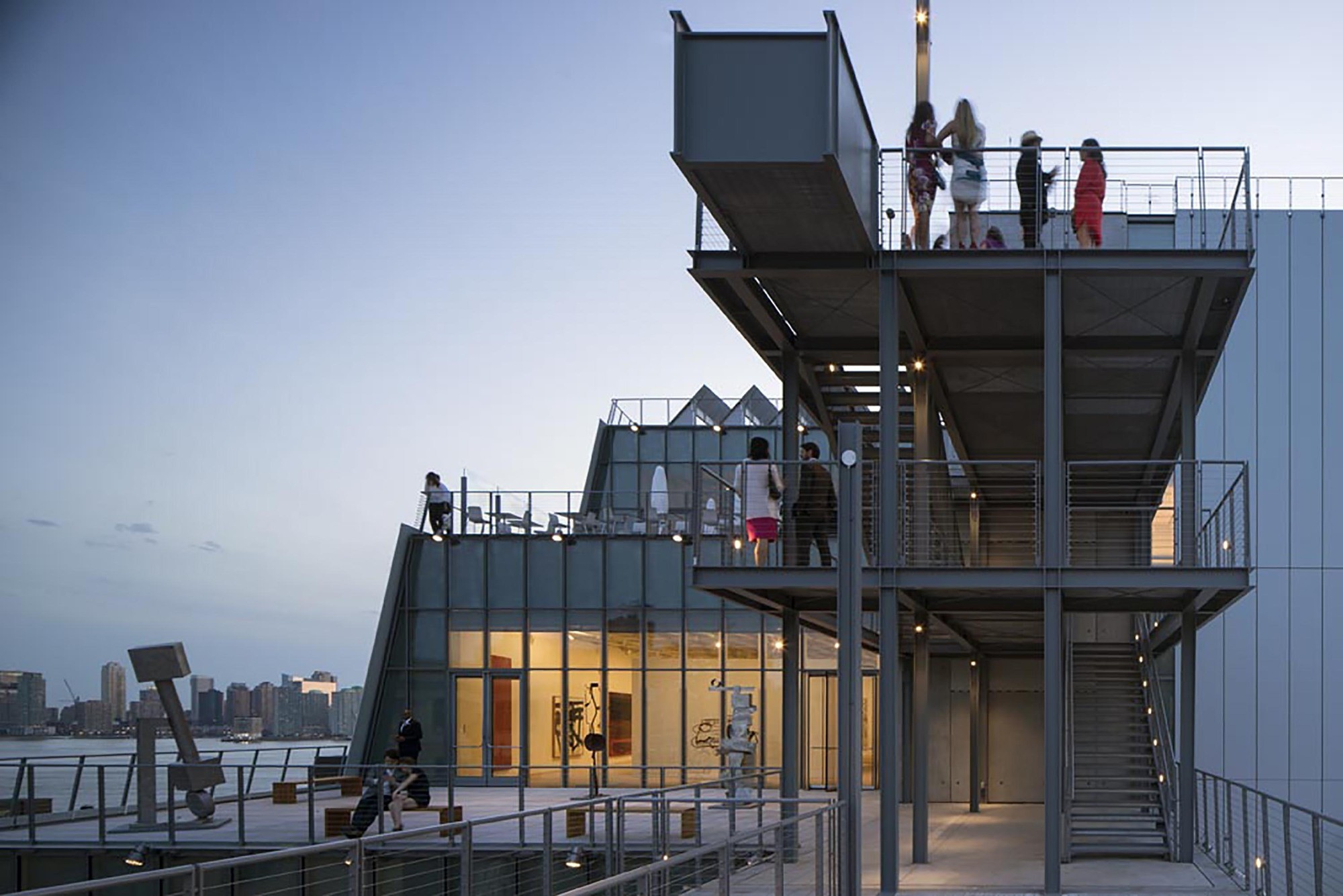 Renzo Piano Whitney Museum And Of Public Space Archdaily