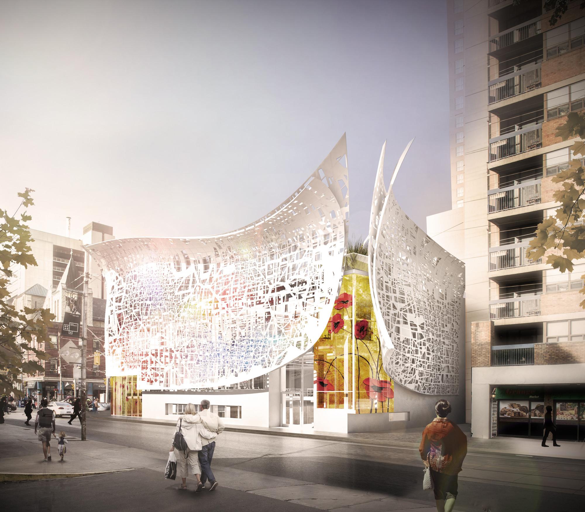 Bortolotto Unveils Design Rosalie Sharp Pavilion In