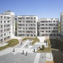 Barajas Social Housing Blocks. Image © Roland Halbe