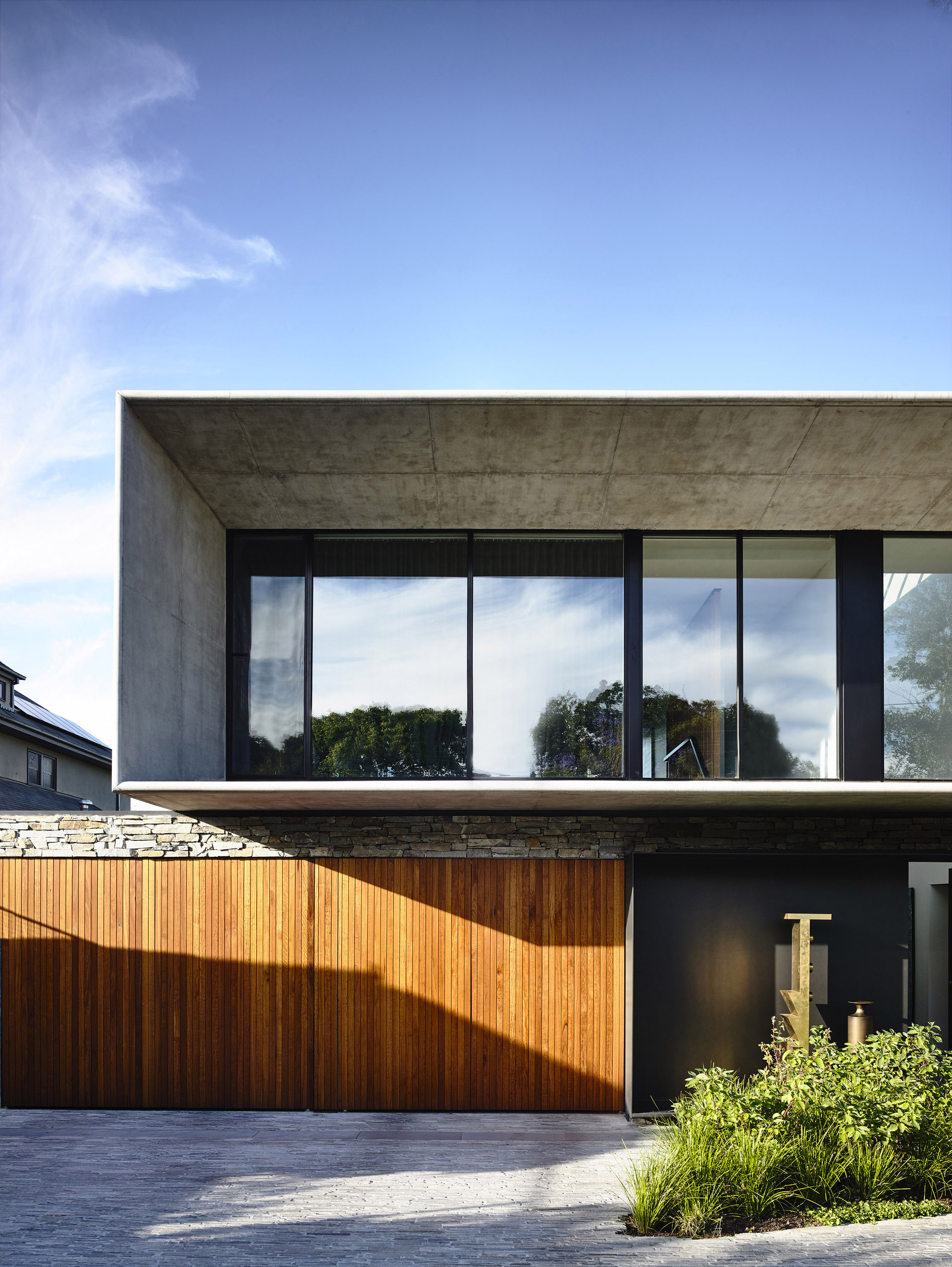 Modern Concrete House Architecture