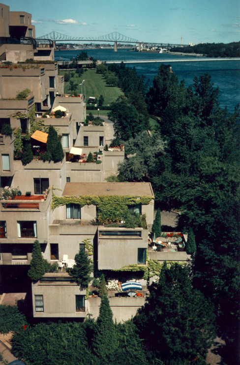 Habitat 67. Image © Canadian Architecture Collection, McGill University