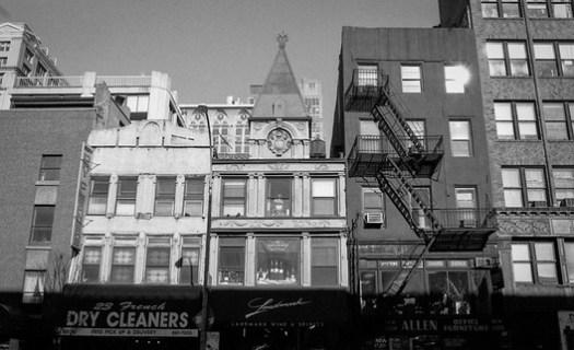 W 23rd Street. Image © G.Alessandrini