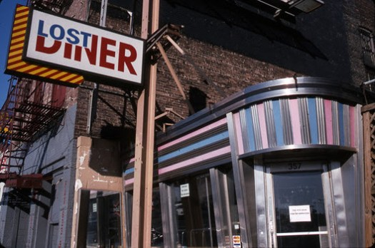 The Lost Diner, at 357 West Street. Image © G.Alessandrini