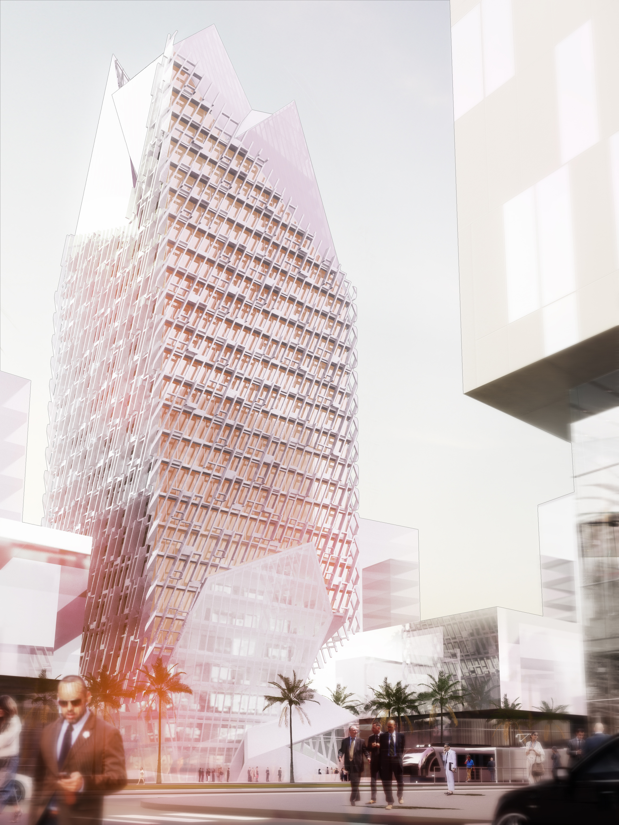 Morphosis Architects Releases Casablanca Finance City
