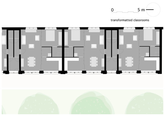 Transformated Classrooms Floor Plan
