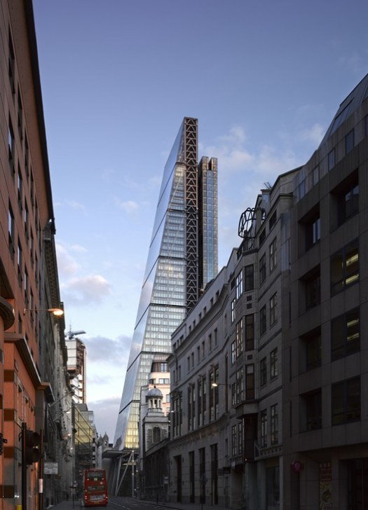The Leadenhall Building. Image © Richard Bryant – Courtesy of British Land/Oxford Properties