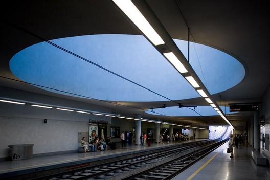 Casa da Musica Subway Station. Image © Fernando Guerra    FG+SG