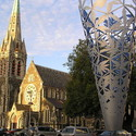 Christchurch. Image © Wikimedia user Mr Tickle