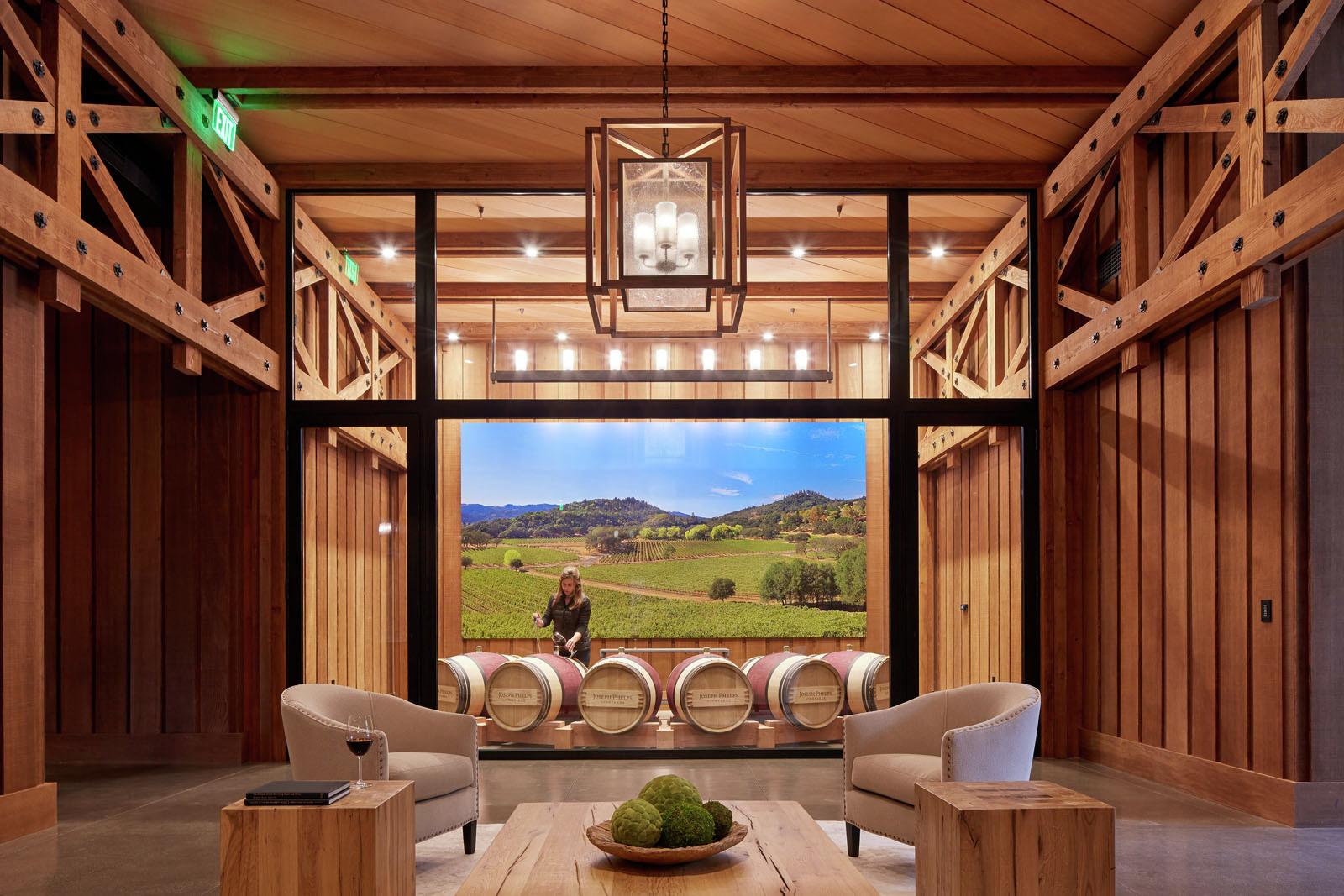 Joseph Phelps Vineyards  BCV Architects  ArchDaily