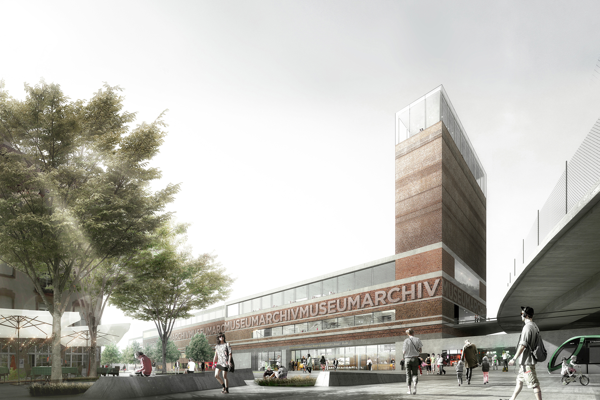Em2n Build Basel' Museum Of Natural History And State Archives Archdaily