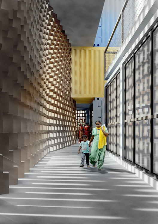 GA Designs Radical Shipping Container Skyscraper for