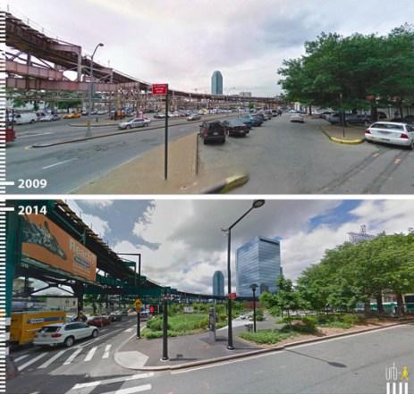 Dutch Kills Green, Queens, Nova York, Estados Unidos. Cortesia de Urb-I