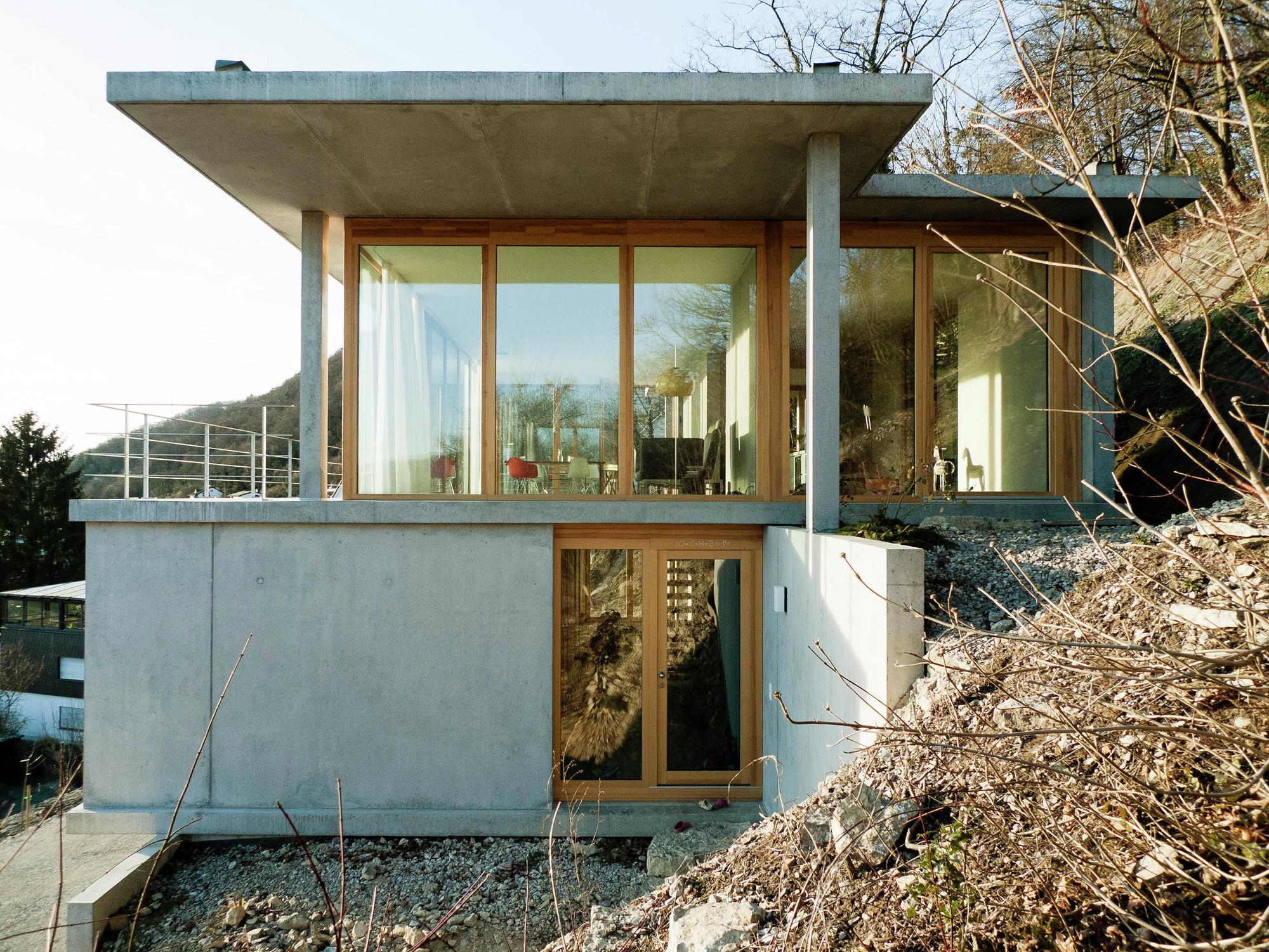 House Slope Gian Salis Architect - 9