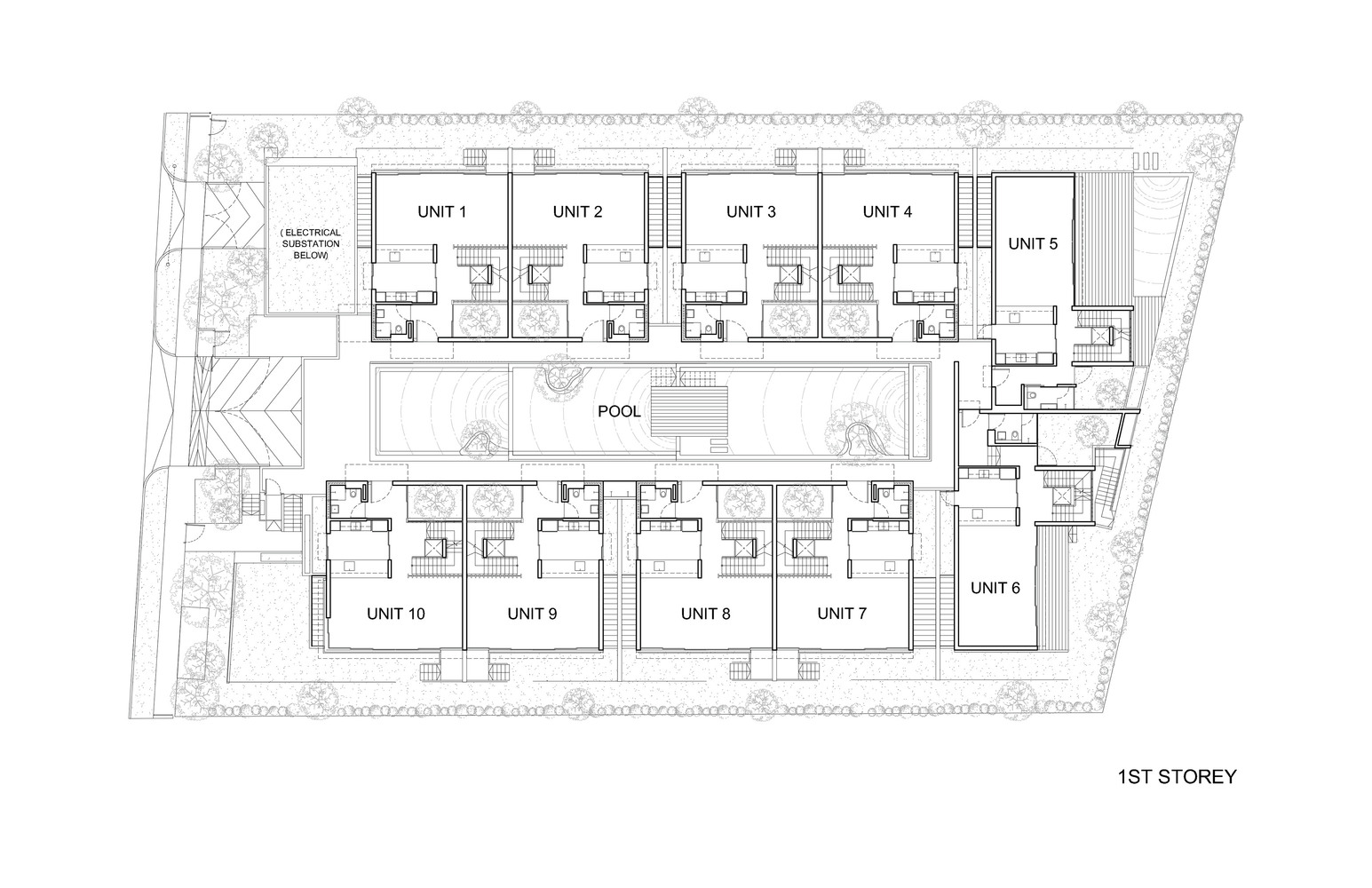 medium resolution of toh crescent ground floor plan