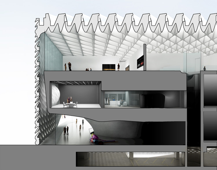 top of foot diagram what is iron carbon equilibrium the broad museum / diller scofidio + renfro | archdaily