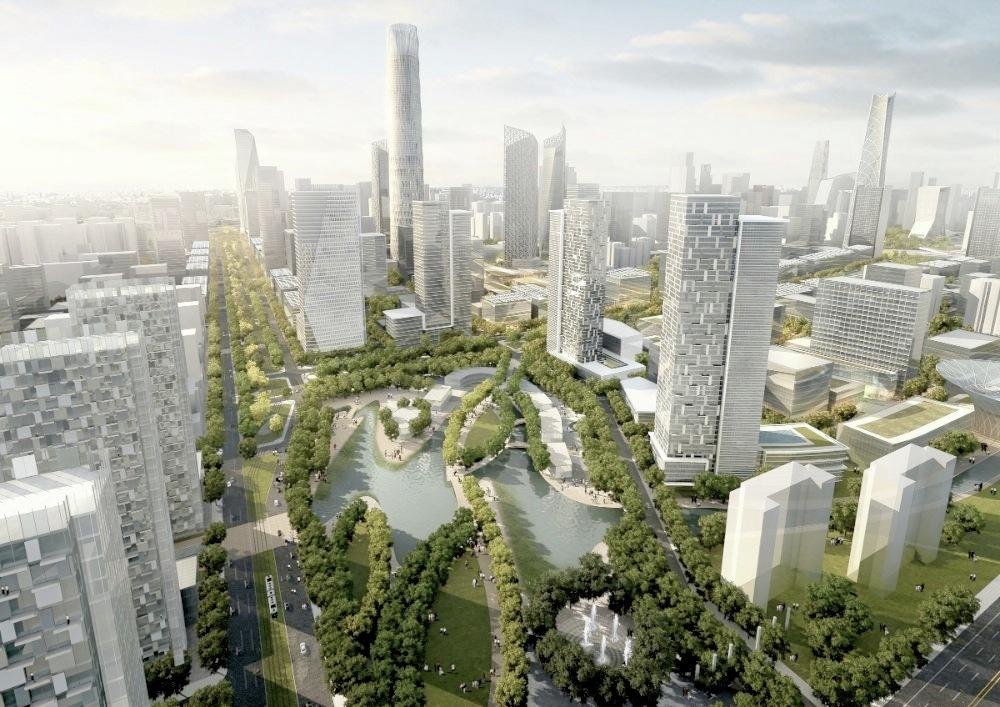 Gallery of Beijing Central Business District  Skidmore Owings  Merrill  2