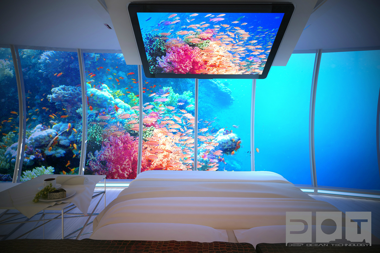 Gallery Of Underwater Hotel Planned For Dubai
