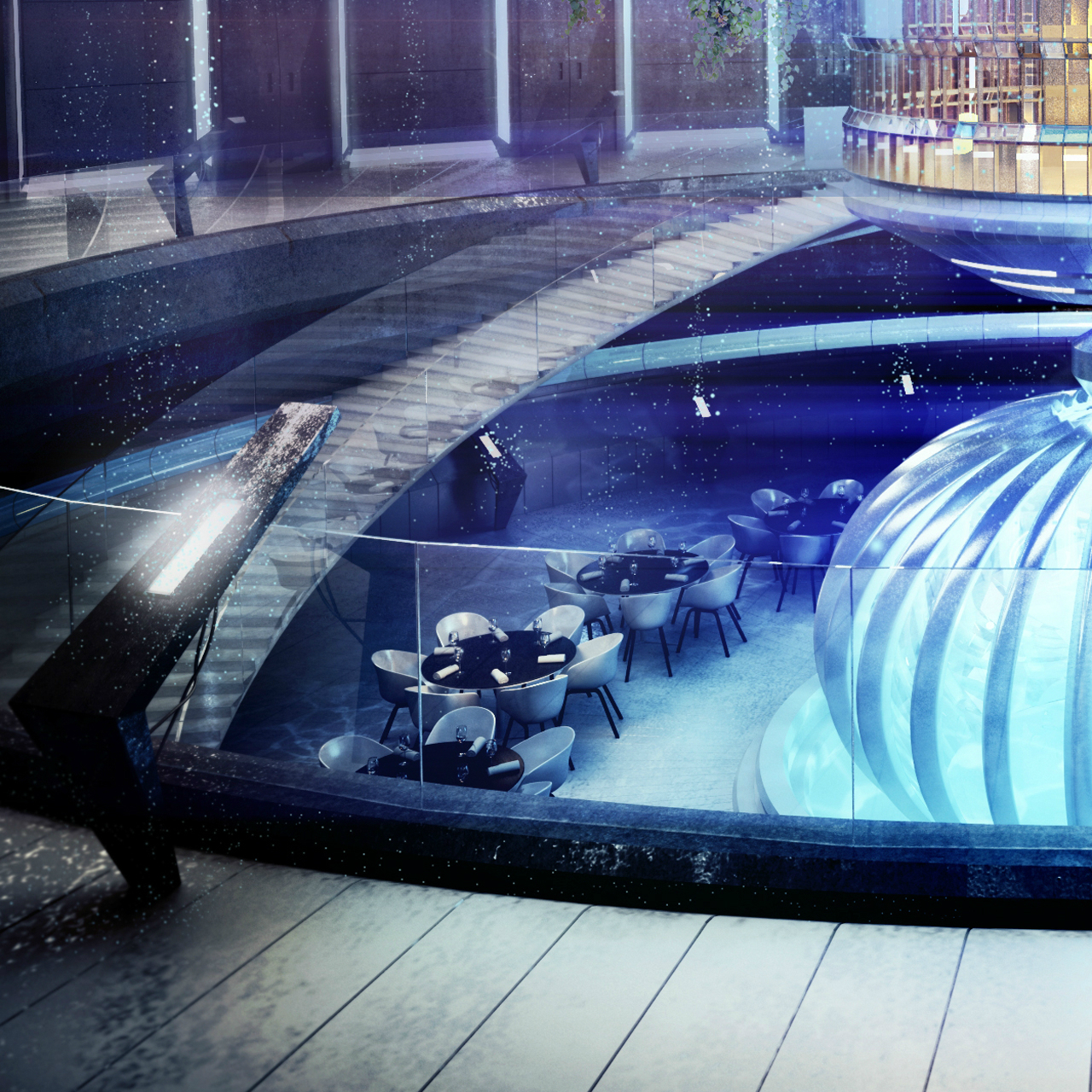 Underwater Hotel Planned Dubai Archdaily