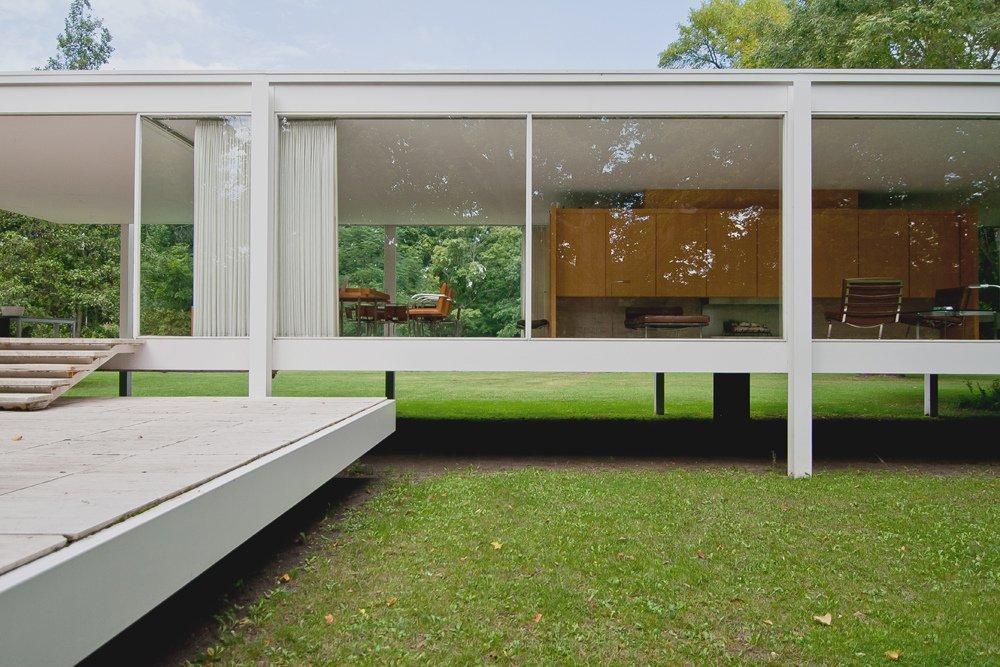 Galera de Clsicos de Arquitectura Casa Farnsworth  Mies van der Rohe  14