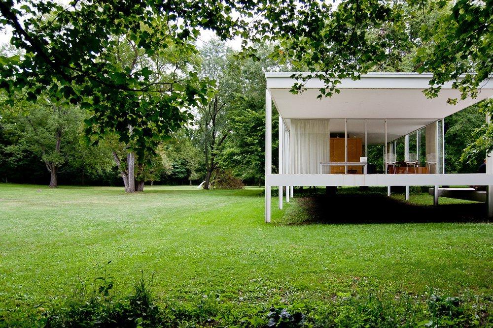 Galera de Clsicos de Arquitectura Casa Farnsworth  Mies van der Rohe  22