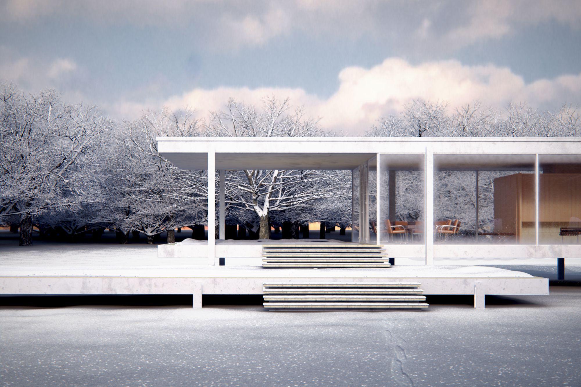 Clsicos de Arquitectura Casa Farnsworth  Mies van der Rohe  ArchDaily Mxico