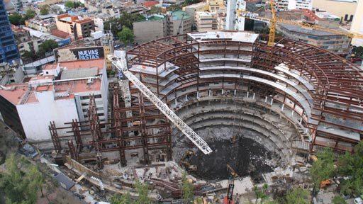 En Construcción: Nueva Sede del Senado Mexicano / Javier Muñoz Menéndez,Vía National Geographic
