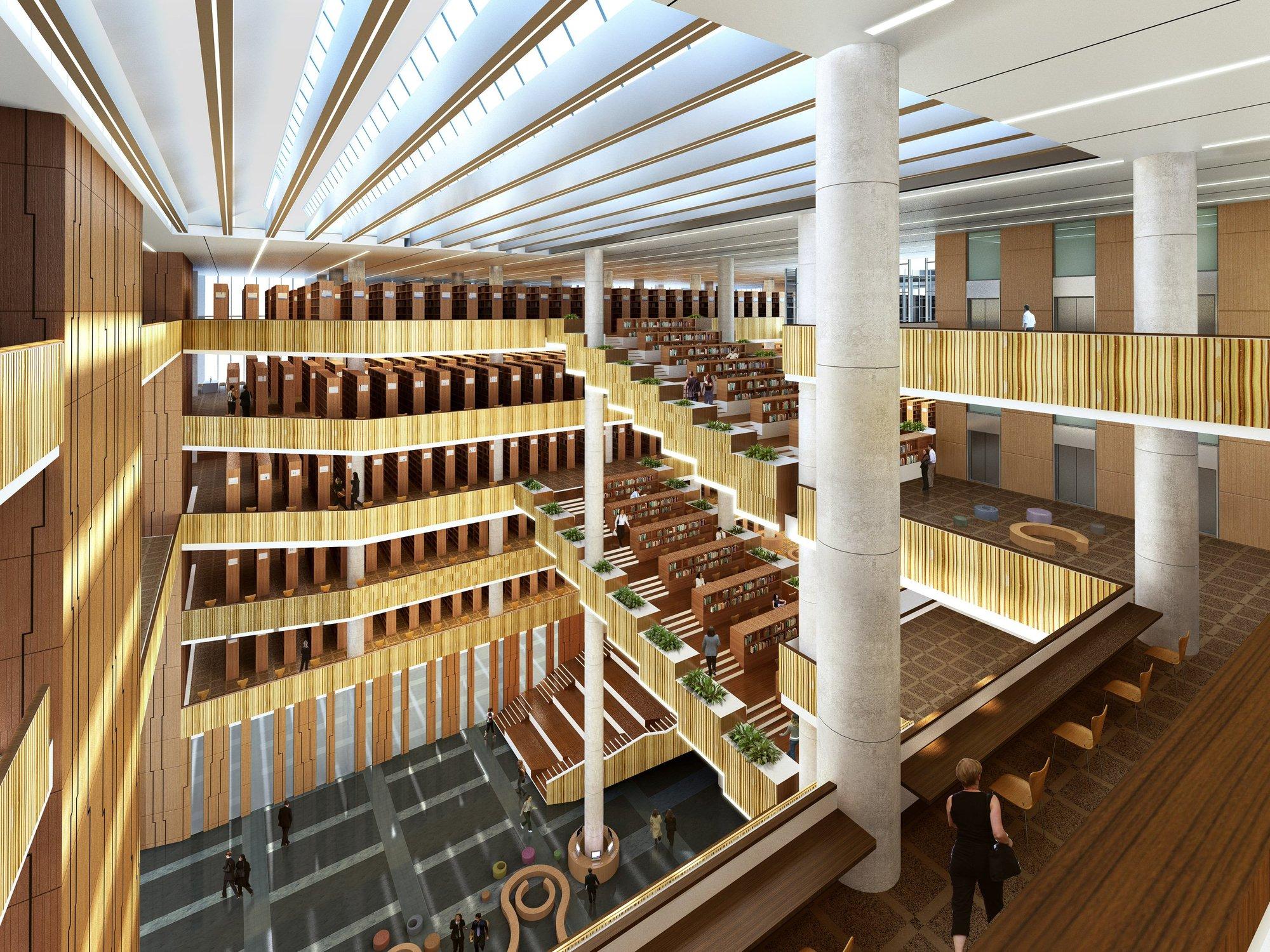 University Library Design