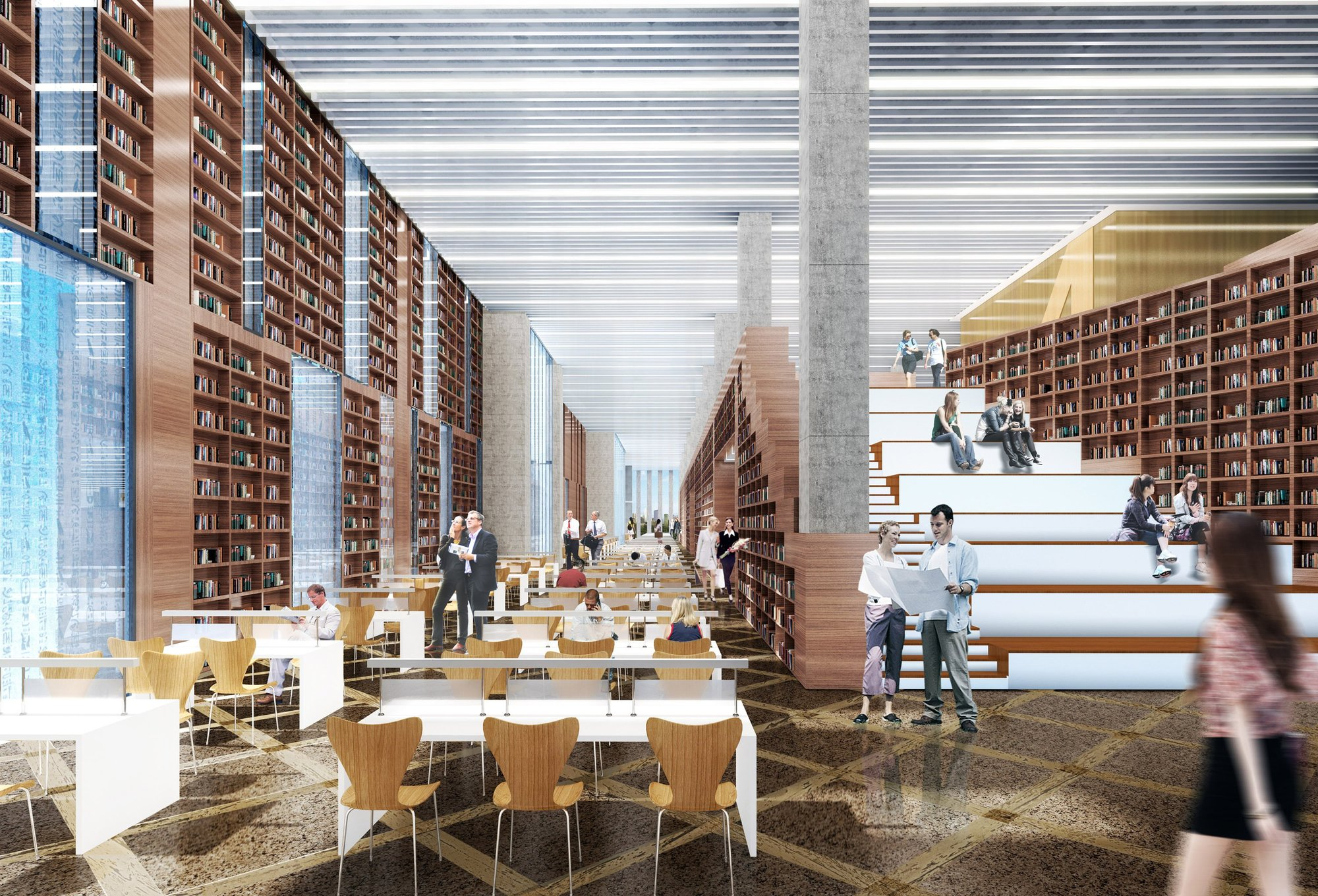 Gallery of Beijing Agriculture University Library Winning