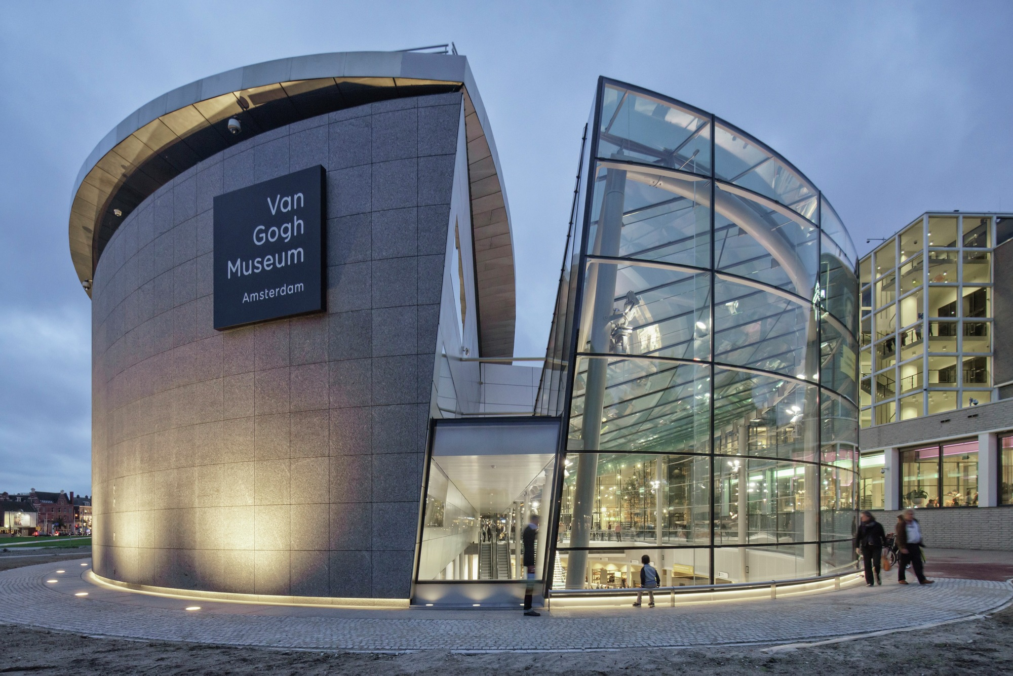 Van Gogh Museum' Entrance Hans Heeswijk Architects Archdaily