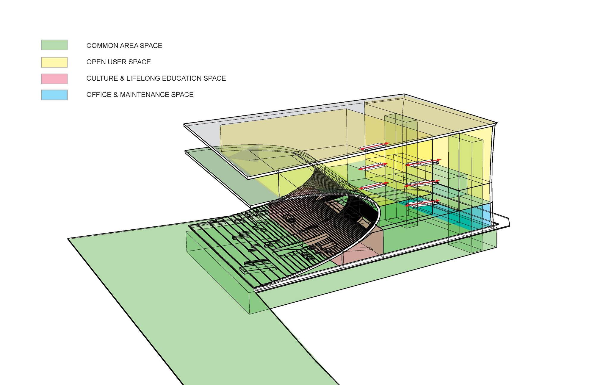 architectural program diagram and 2 goodman heat pump defrost control wiring gallery of daegu gosan public library competition entry