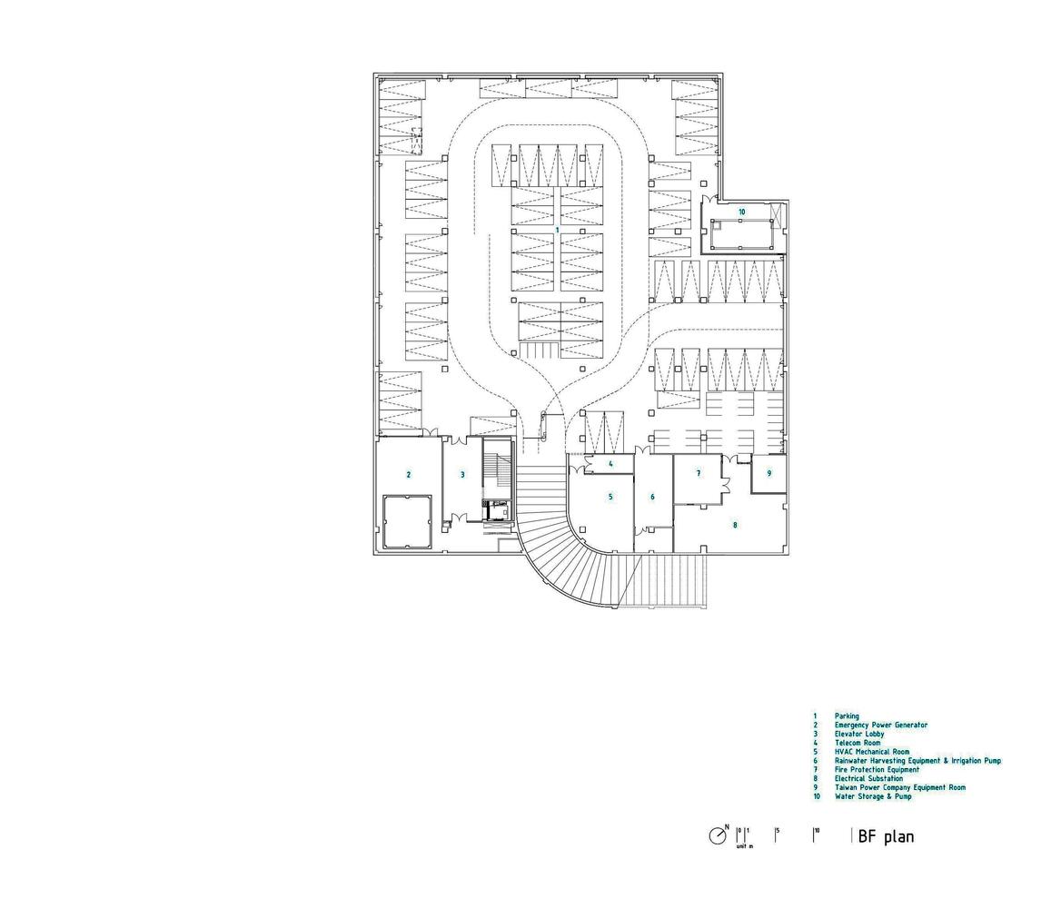 hight resolution of kaohsiung american school mayu architects basement floor plan