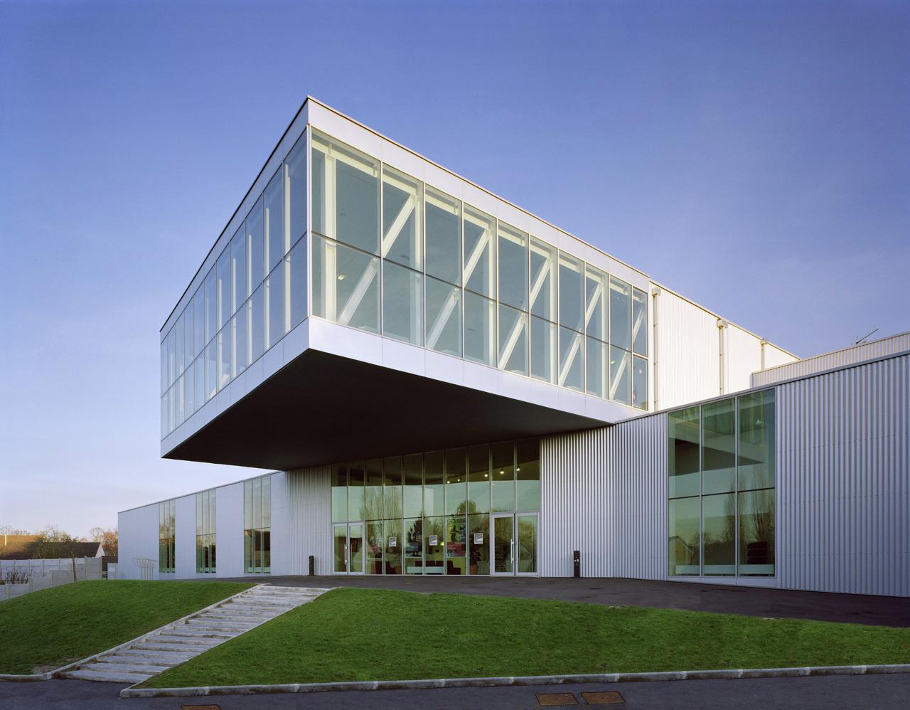 Cultural Center Pontault Combault Archi5 - 8