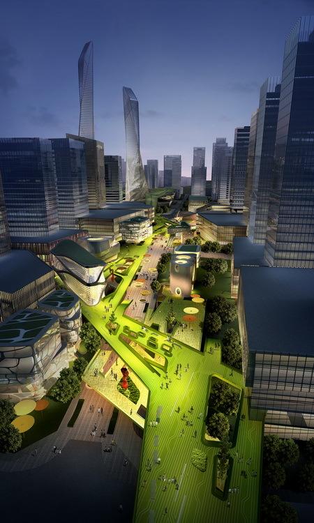 Gallery Of Southern Island Of Creativity Chengdu Urban