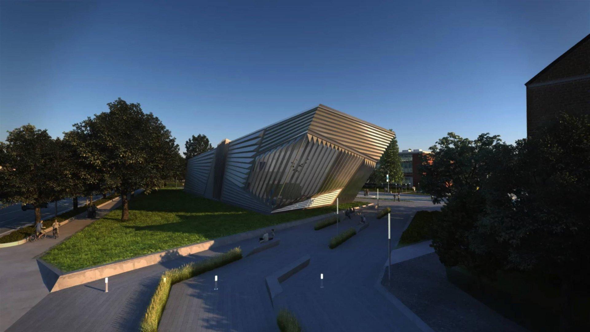 In Progress Broad Art Museum Zaha Hadid - 22