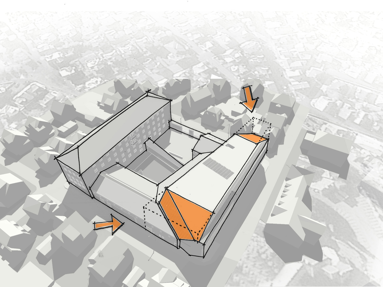 hight resolution of stavanger museum of archeology lund slaatto architects
