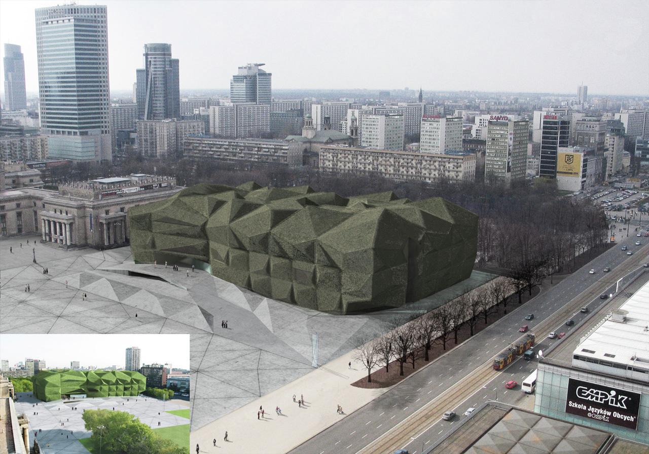 Museum Modern Art In Warsaw Mmaw Camilo
