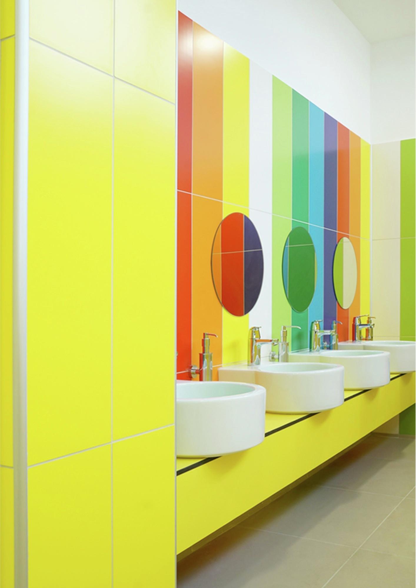 Kindergarten School Bathroom