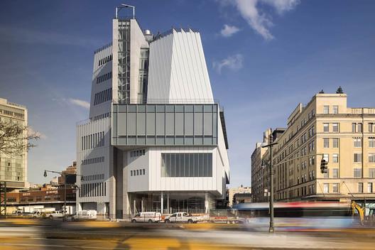 The Whitney Museum. Image © Nic Lehoux