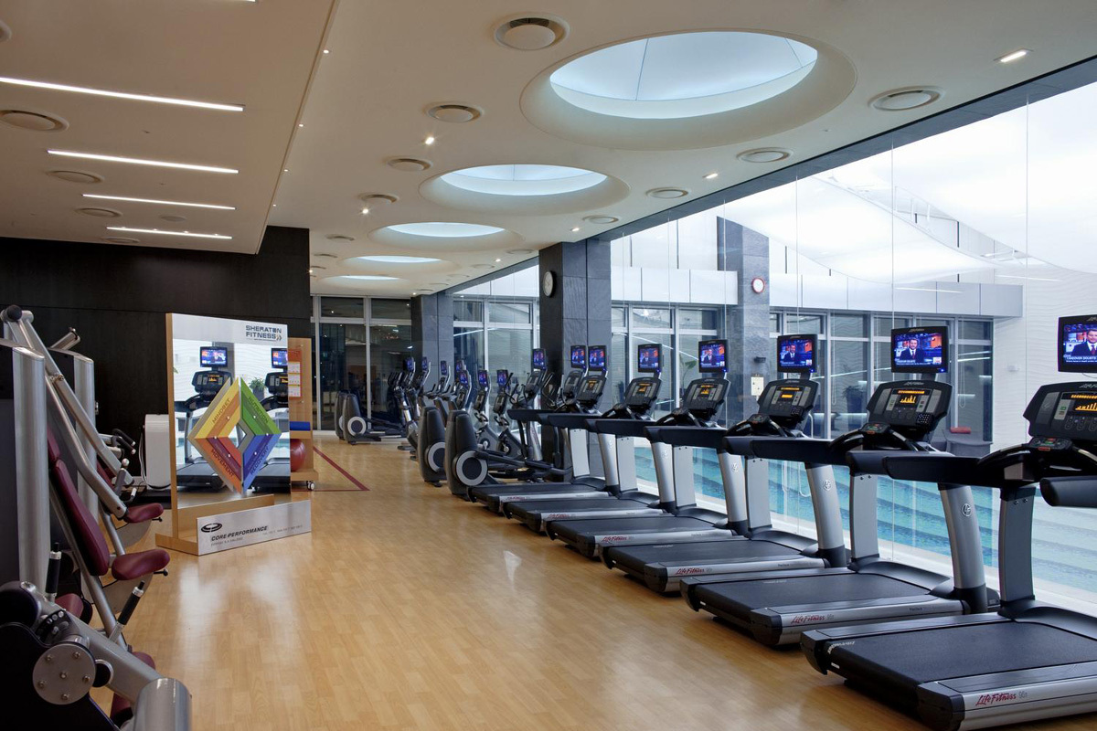 Center Fitness Interior Design Modern
