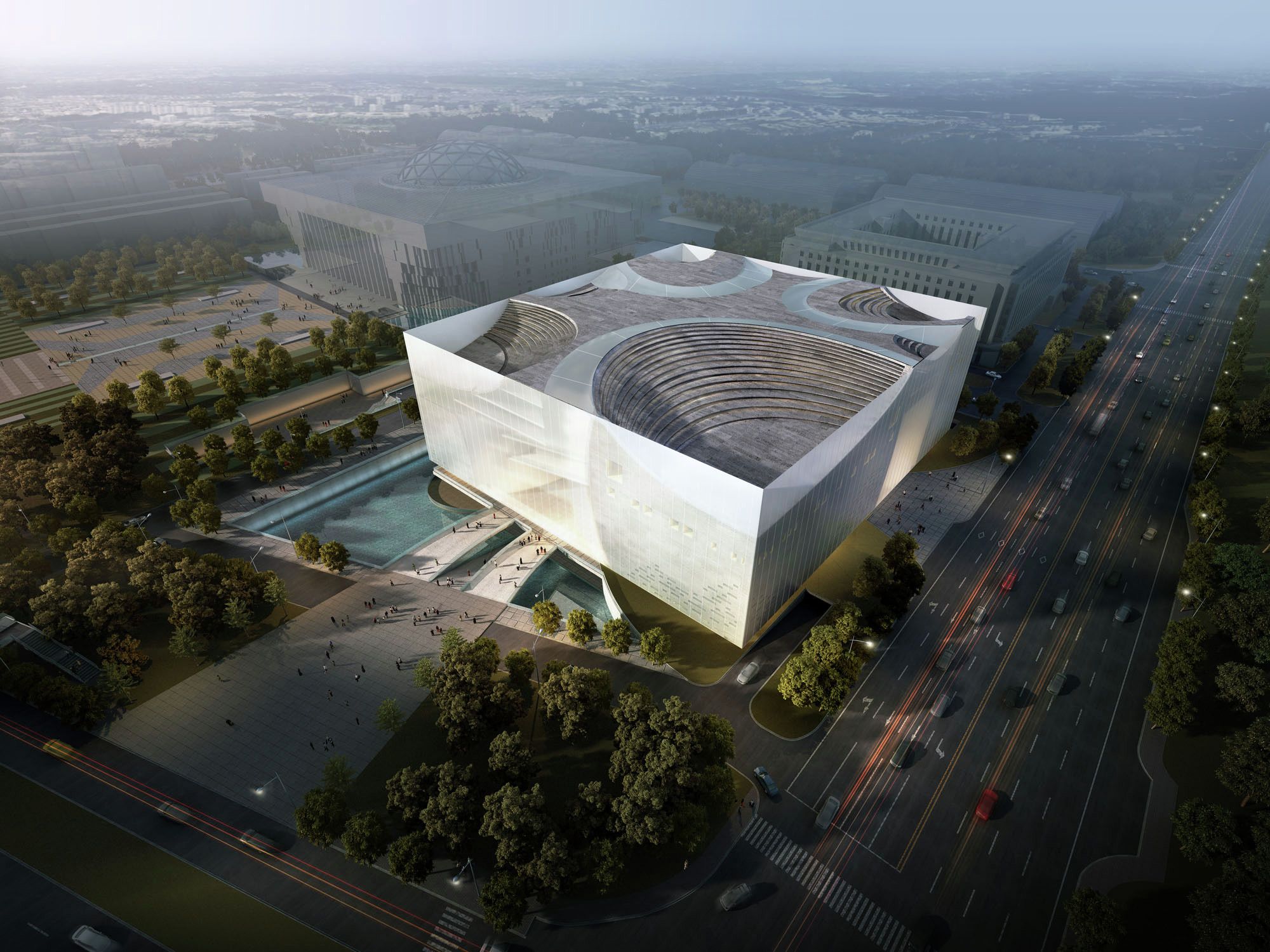 Jinan Contemporary Art Museum Proposal United