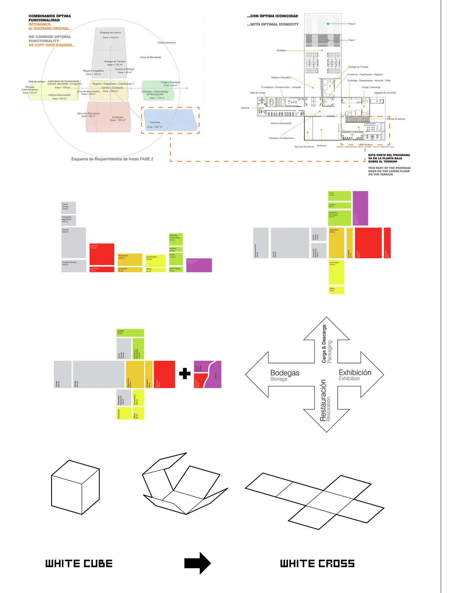 museum bubble diagram landscape mitosis labeled gallery of new tamayo rojkind arquitectos and big