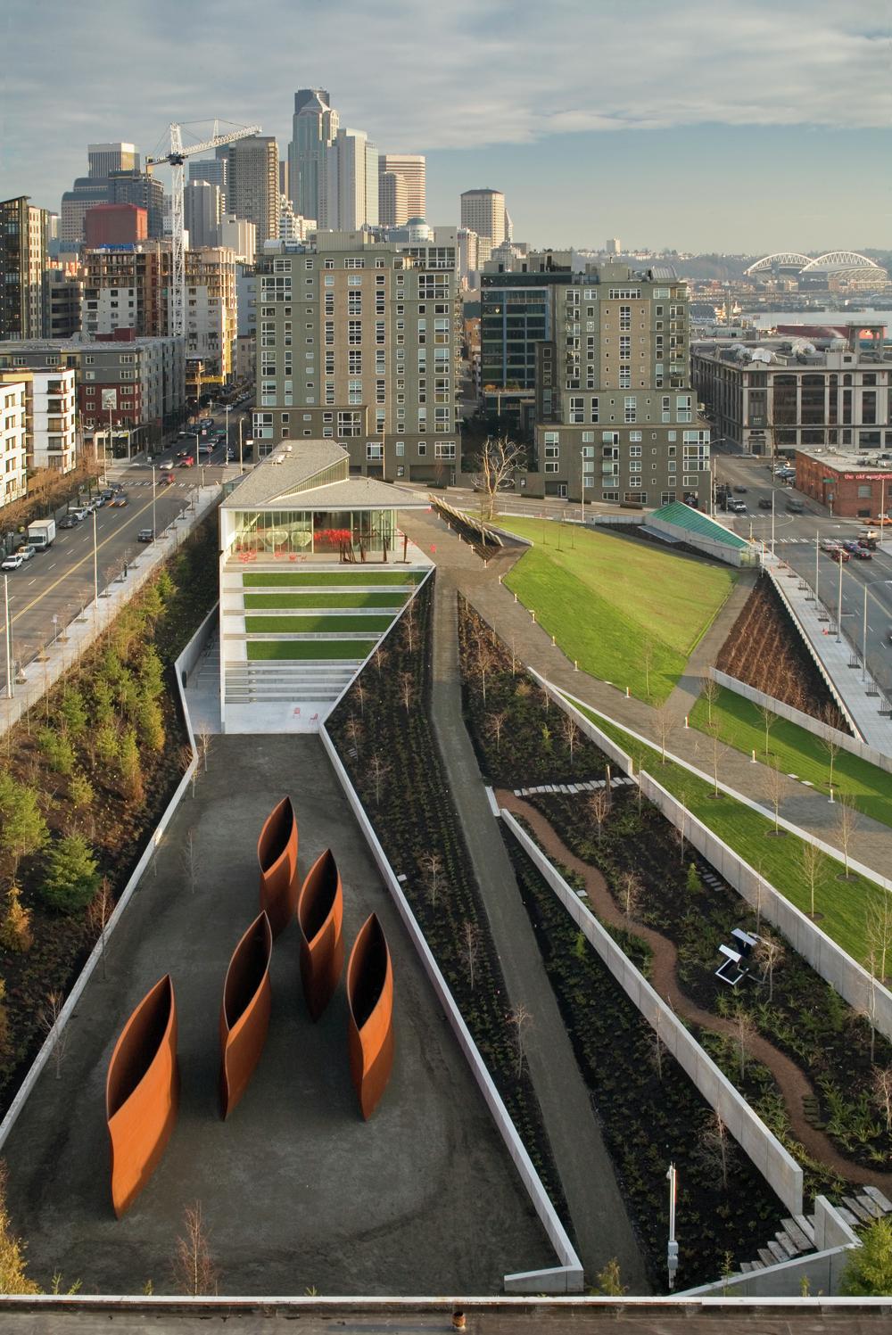 Olympic Sculpture Park Weiss Manfredi - 4
