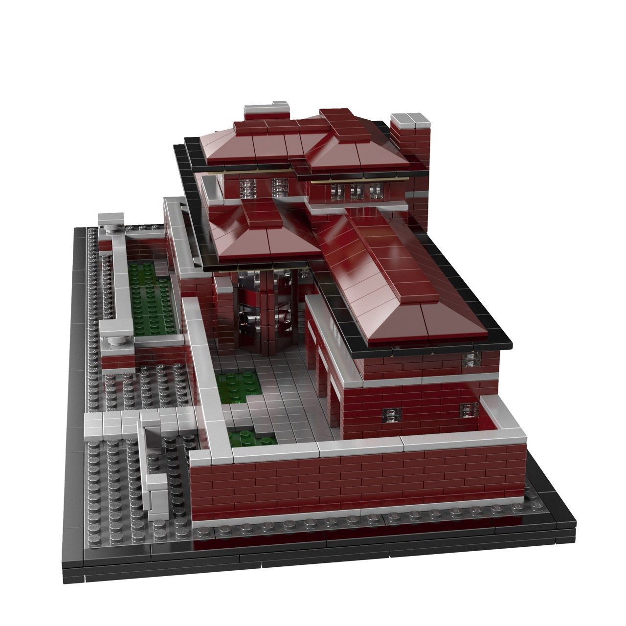 And the newest addition to LEGO Architecture isFrank
