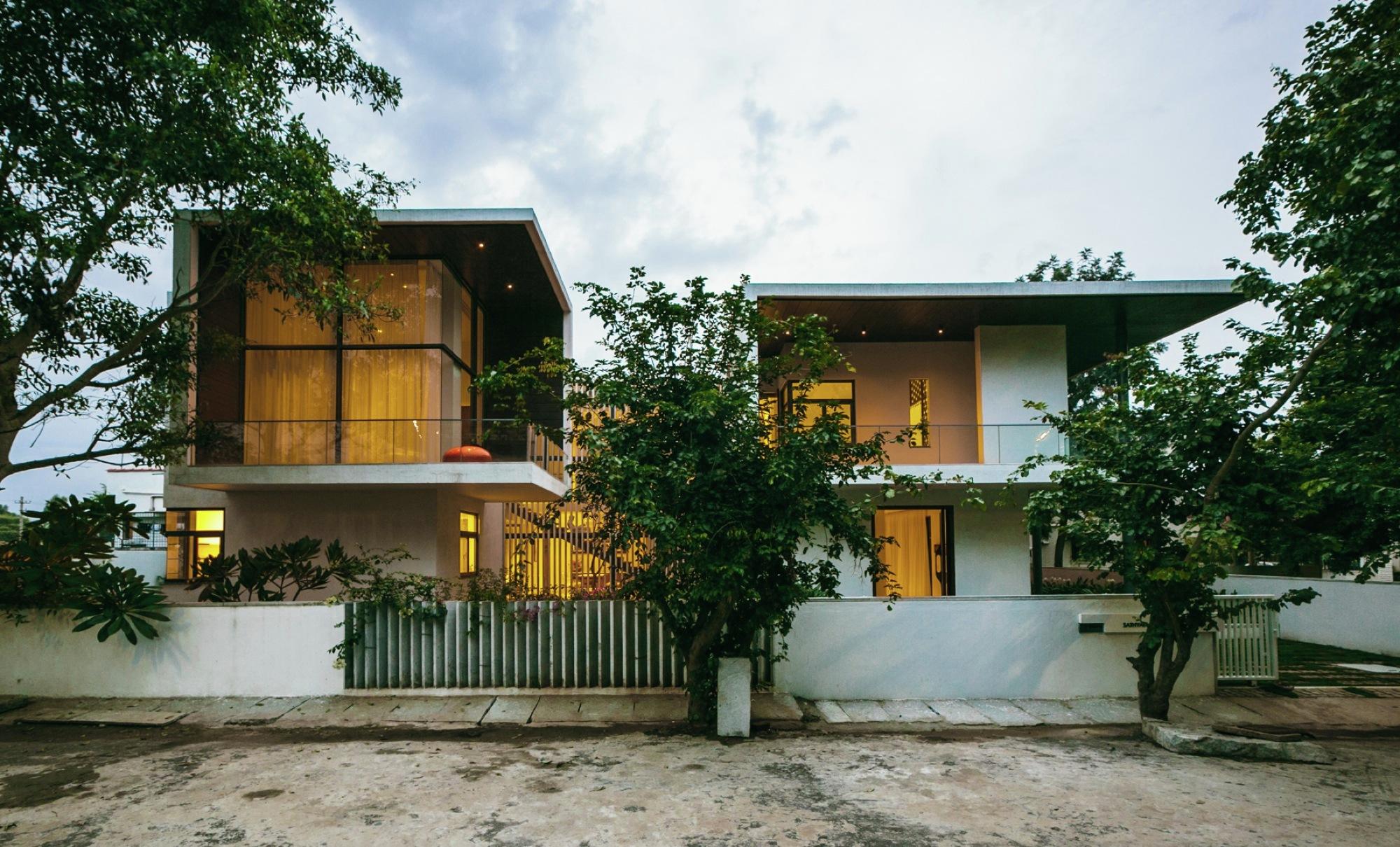 Courtyard House Abin Design Studio