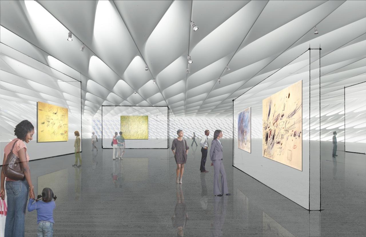 Design Unveiled Broad Museum Diller