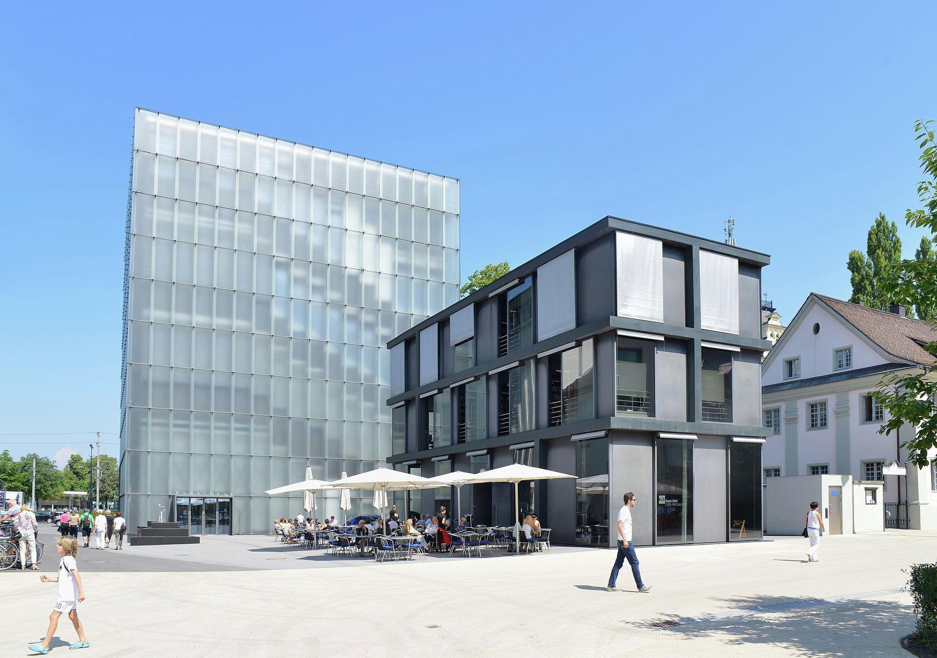 Kunsthaus Bregenz Peter Zumthor Museum