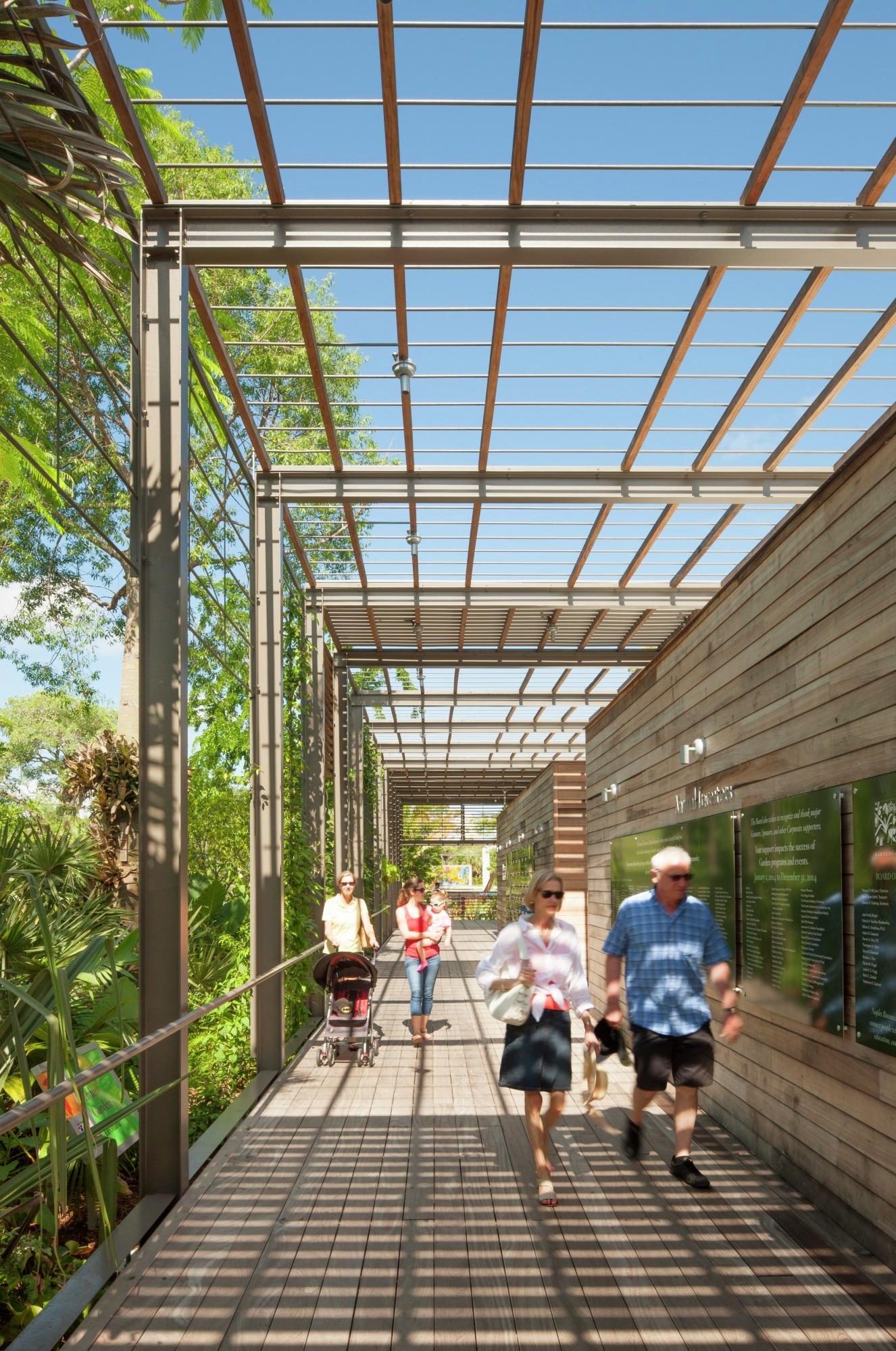 Gallery of Naples Botanical Garden Visitor Center  LakeFlato Architects  5